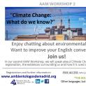 "AAM WORKSHOP 2 ""Climate Change"""