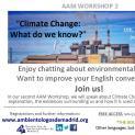 "AAM WORKSHOP 2 ""Climate Change"""