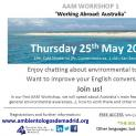 "AAM WORKSHOP 1 ""Working Abroad: Australia"""