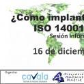 Sesión Informativa: ¿Cómo implantar la nueva ISO 14001:2015?