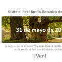Visita al Real Jardín Botánico de Madrid
